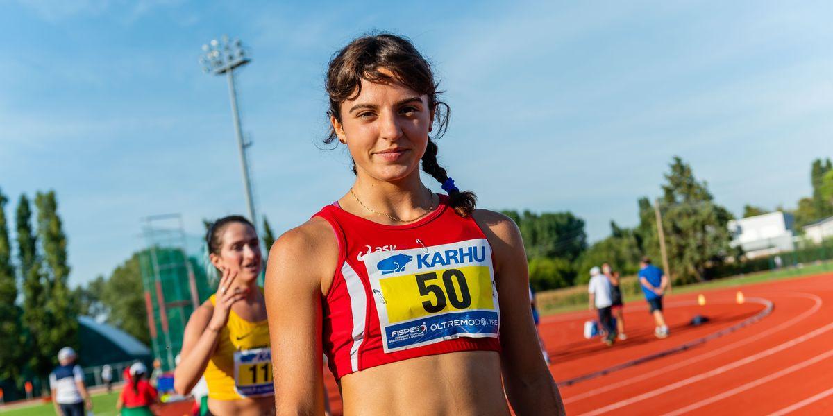 La corsa di Ambra Sabatini, figlia da record del buon vento paralimpico