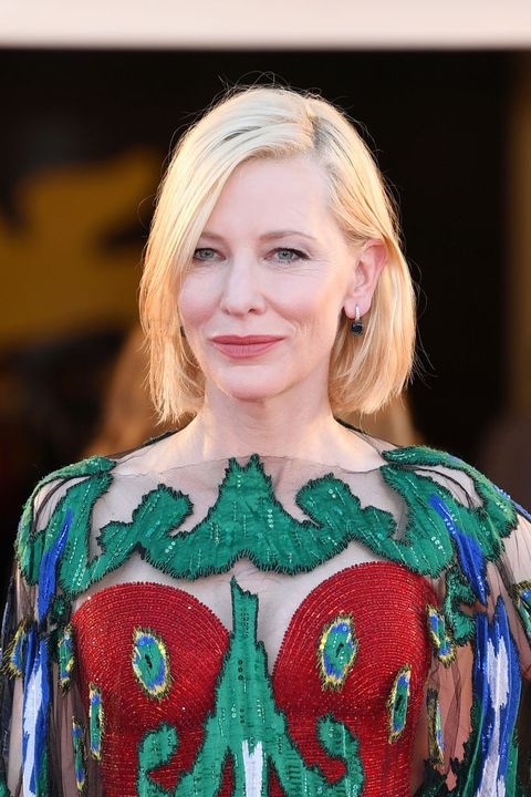 venice, italy   september 12 venezia77 jury president cate blanchett walks the red carpet ahead of closing ceremony at the 77th venice film festival on september 12, 2020 in venice, italy photo by daniele venturelliwireimage