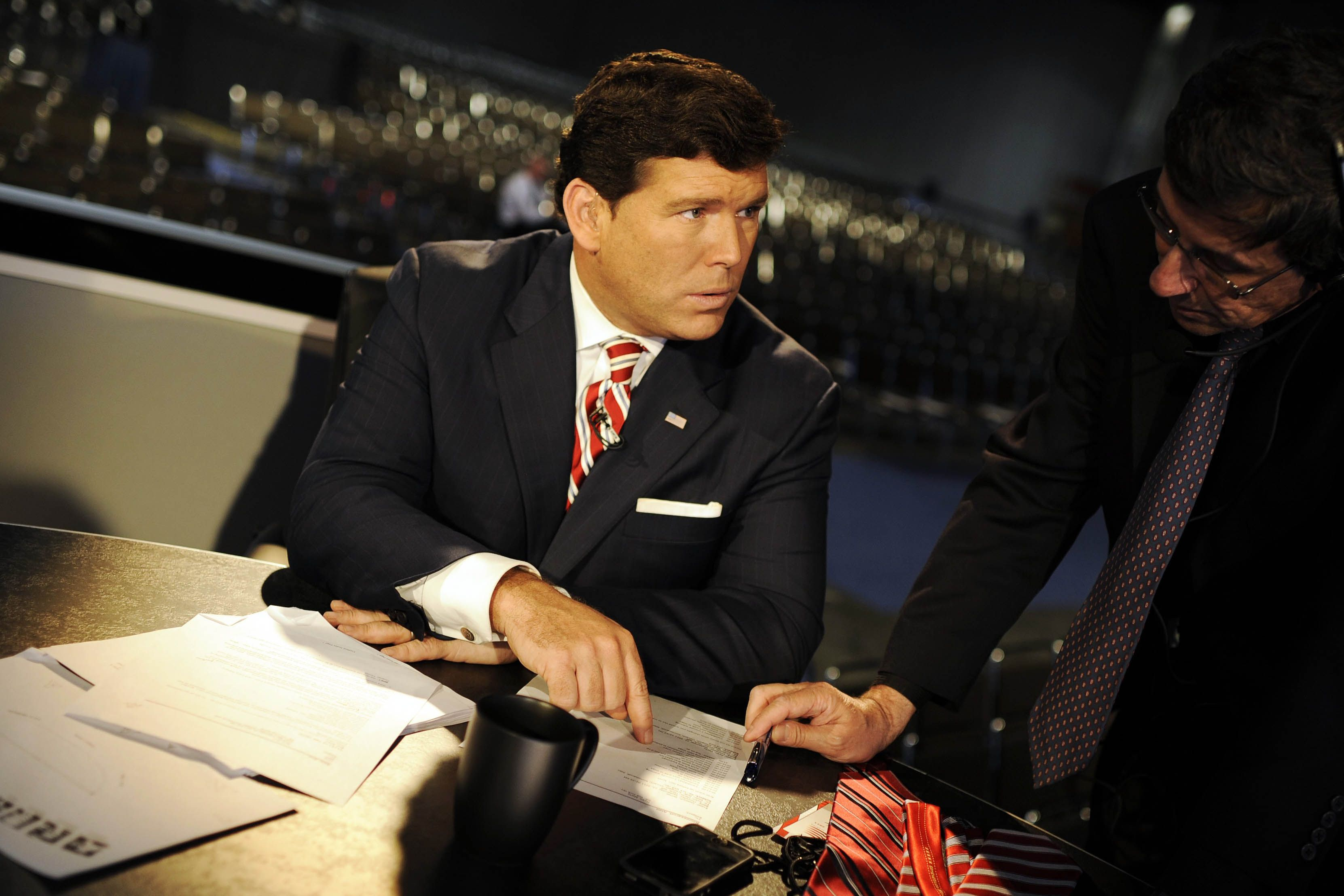 Bret Baier is held up as the best that Fox News has to offer.