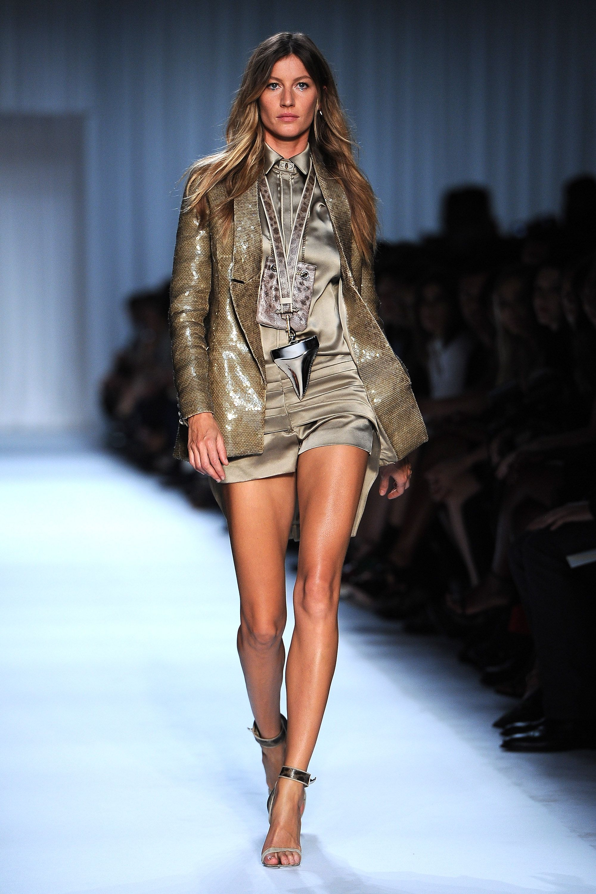 """Gisele Bündchen Bündchen made her runway debut at New York Fashion Week in 1996 and the rest was history. The Brazilian model hit the peak of her career as a Victoria's Secret Angel from 2000 to 2007, pioneered the """"horse walk"""" (when a model picks her knees up high and kicks her feet out in front), and has landed high-fashion campaigns with everyone from Chanel and Givenchy to Versace and Salvatore Ferragamo."""