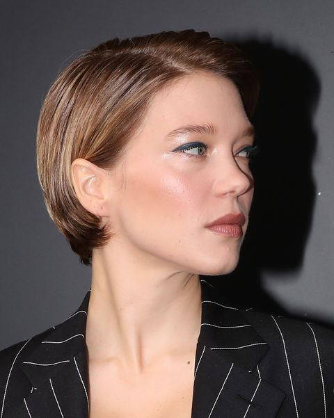 paris, france   october 06 lea seydoux attends the louis vuitton womenswear springsummer 2021 show as part of paris fashion week on october 06, 2020 in paris, france photo by bertrand rindoff petroffgetty images