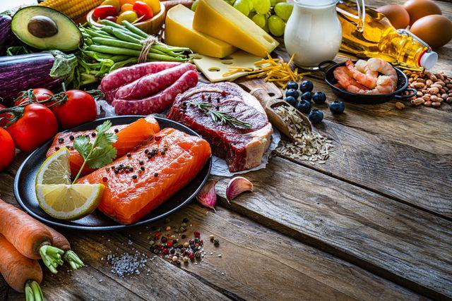 más de 30 alimentos con muchas proteínas