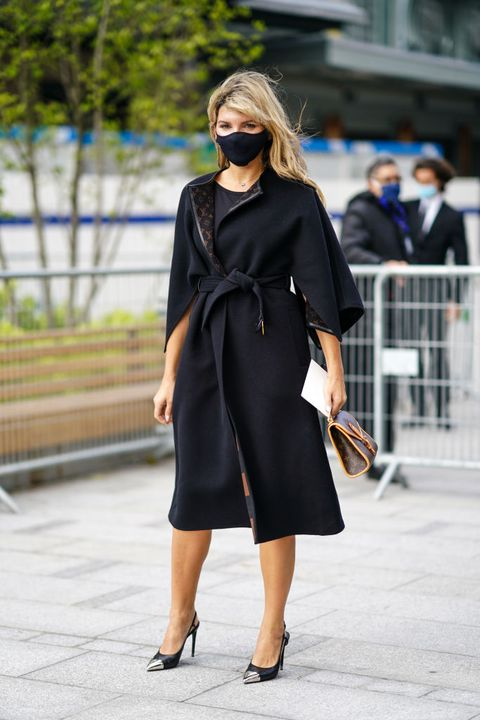 cappotti neri moda autunno inverno 2020 2021