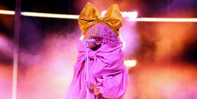 hollywood, california   october 14 in this image released on october 14, sia performs onstage at the 2020 billboard music awards, broadcast on october 14, 2020 at the dolby theatre in los angeles, ca  photo by kevin winterbbma2020getty images for dcp