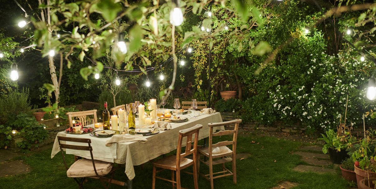 Here's everything you need for a perfect rule of six garden gathering, from lights to fire pits