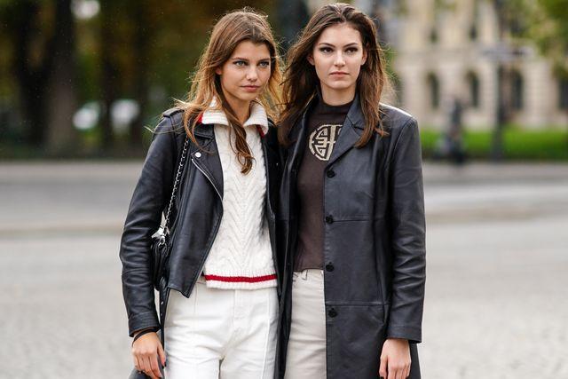 street style at paris fashion week  ellees