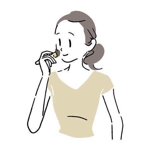 woman doing make up 1
