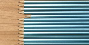 Pencils in a Line