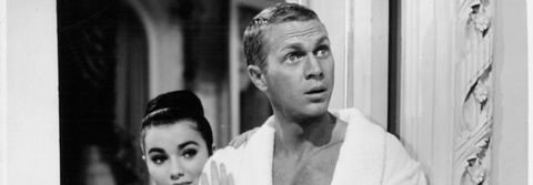 Brigid Bazlen And Steve McQueen In 'The Honeymoon Machine'
