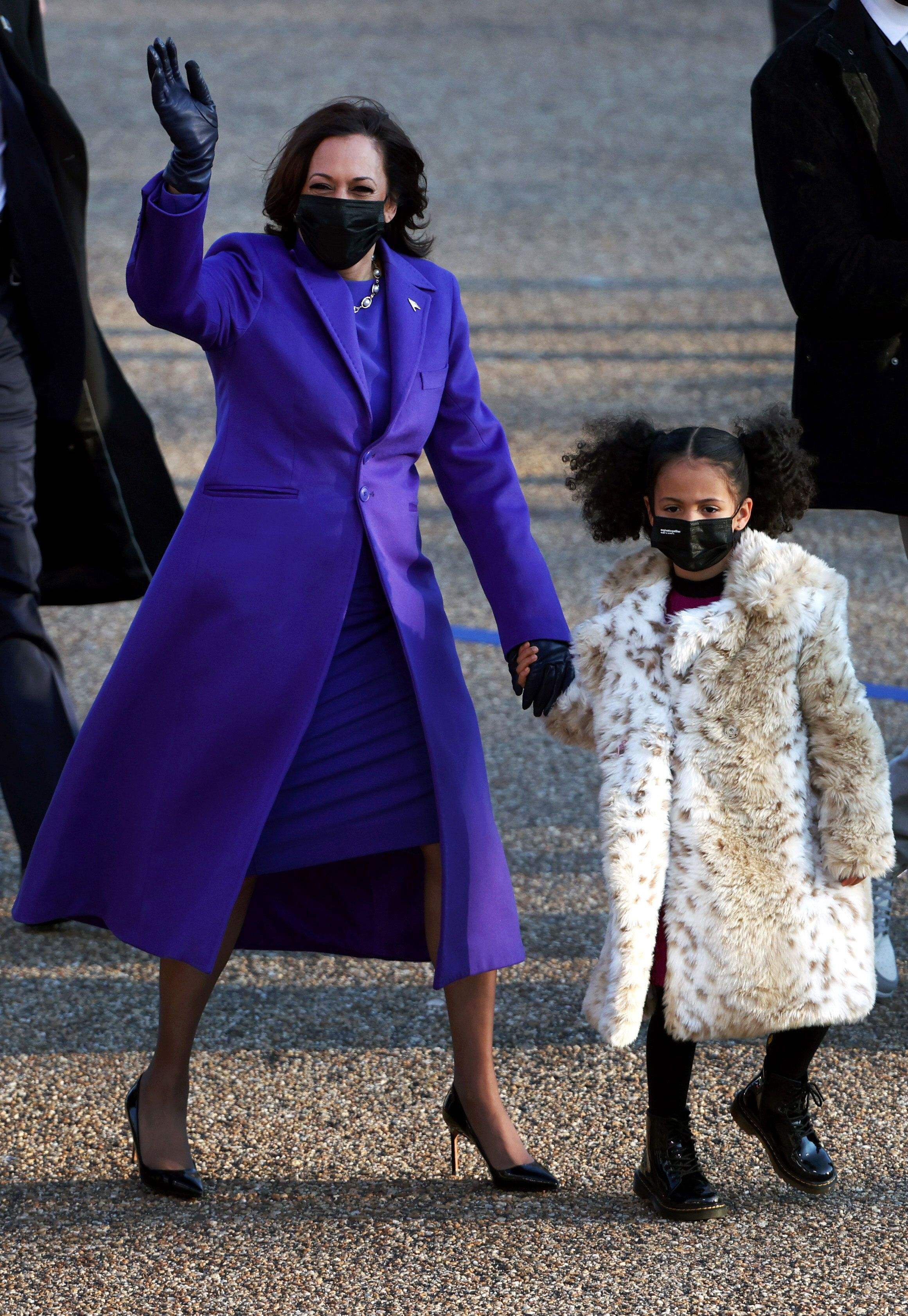 Kamala Harris's great-nieces recreated one of her outfits on Inauguration Day