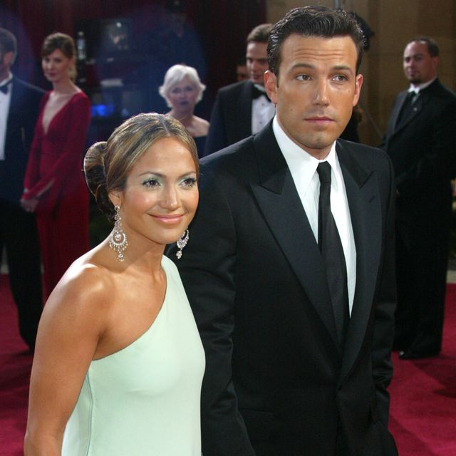 jennifer lopez and ben affleck during the 75th annual academy awards   arrivals at the kodak theater in hollywood, california, united states photo by dan macmedanwireimage