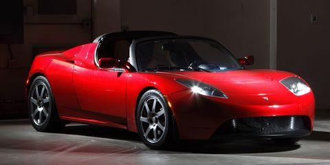 2008 Tesla Roadster Prototype First Drive