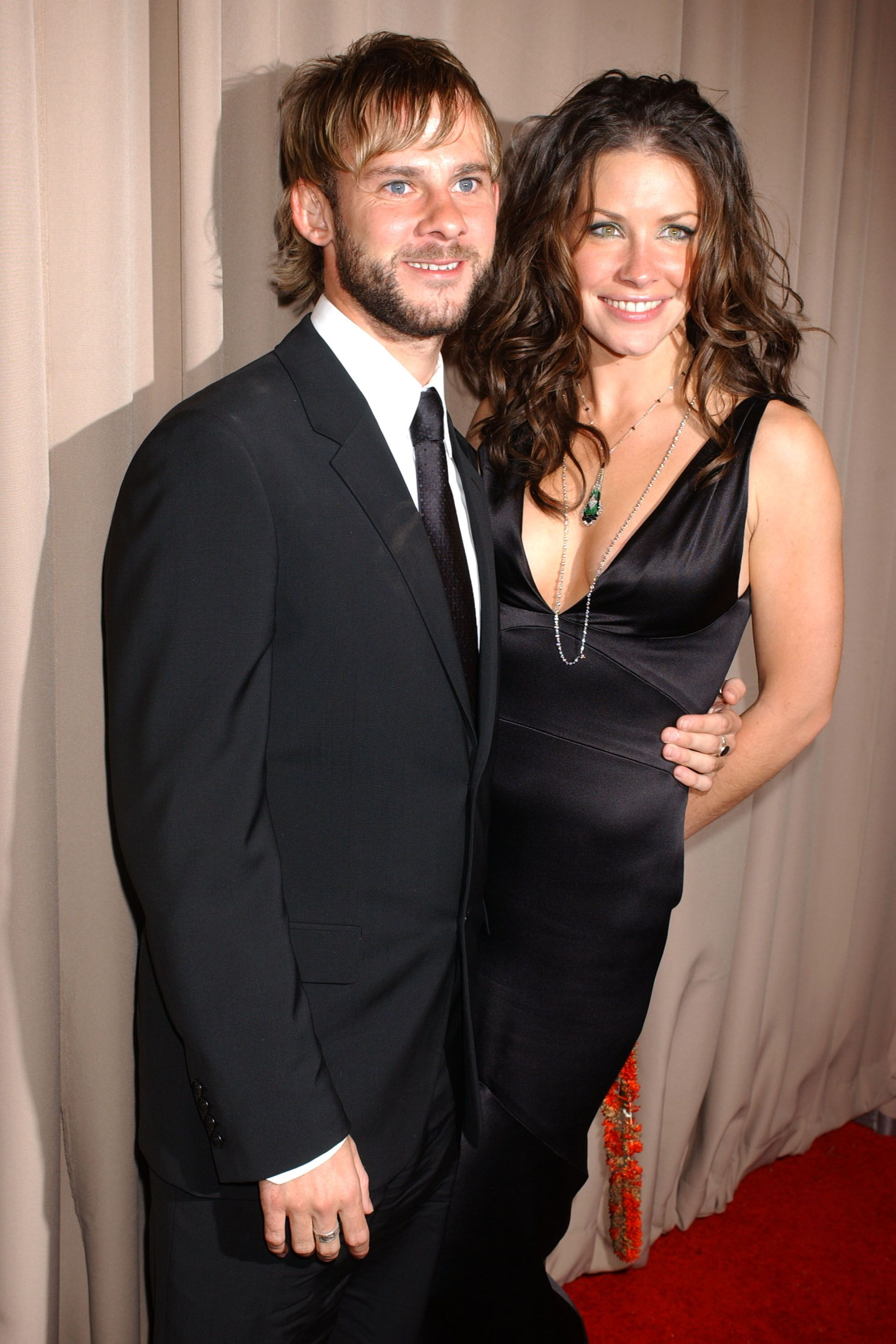 Evangeline Lilly and Domanic Monagahan