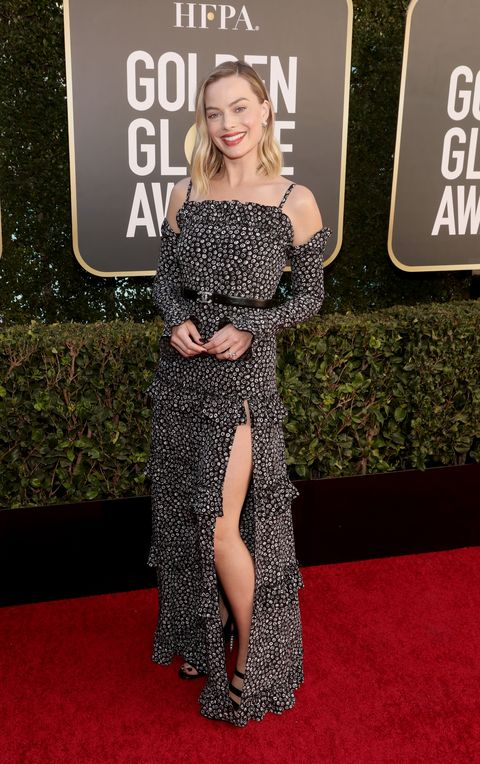 beverly hills, california 78th annual golden globe awards    pictured in this image released on february 28, margot robbie attends the 78th annual golden globe awards held at the beverly hilton and broadcast on february 28, 2021 in beverly hills, california    photo by todd williamsonnbcnbcu photo bank via getty images
