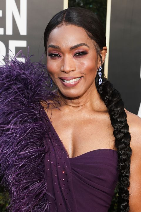beverly hills, california 78th annual golden globe awards    pictured angela bassett attends the 78th annual golden globe awards held at the beverly hilton and broadcast on february 28, 2021 in beverly hills, california    photo by todd williamsonnbcnbcu photo bank via getty images