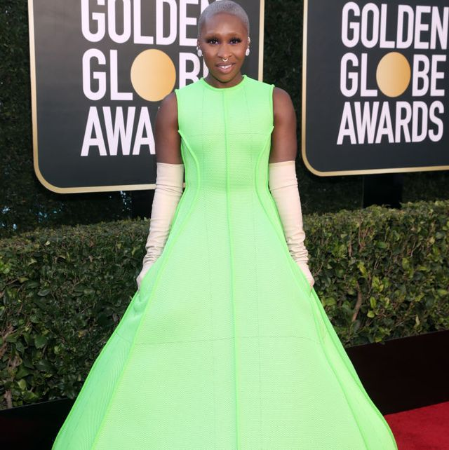 beverly hills, california 78th annual golden globe awards    pictured cynthia erivo attends the 78th annual golden globe awards held at the beverly hilton and broadcast on february 28, 2021 in beverly hills, california    photo by todd williamsonnbcnbcu photo bank via getty images