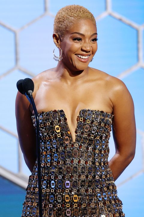 beverly hills, california 78th annual golden globe awards    pictured tiffany haddish announces soul as the winner of the best picture – animated award onstage at the 78th annual golden globe awards held at the beverly hilton and broadcast on february 28, 2021 in beverly hills, california    photo by rich polknbcuniversalnbcu photo bank via getty images