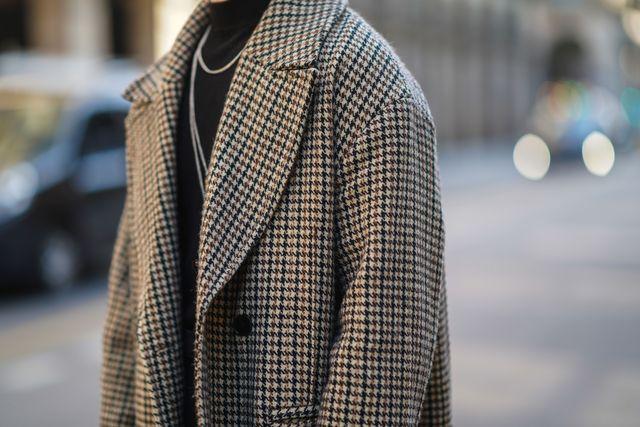 cappotto lungo uomo moda autunno inverno 2021 2022