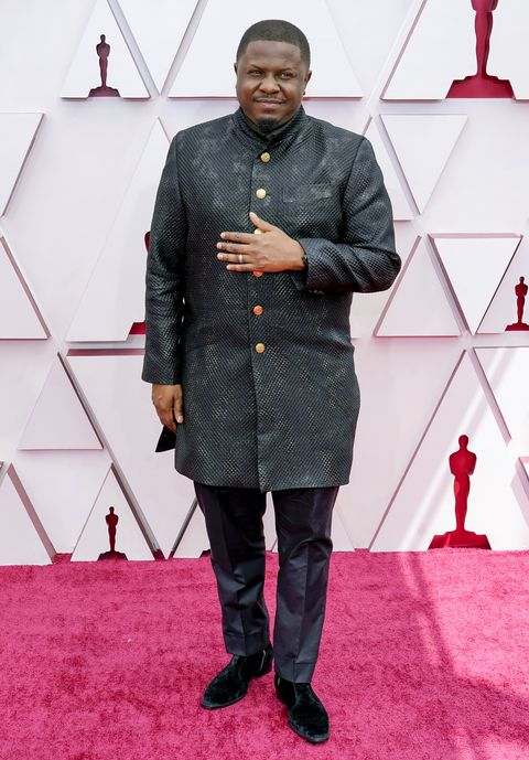 los angeles, california – april 25 dmile attends the 93rd annual academy awards at union station on april 25, 2021 in los angeles, california photo by chris pizzelo poolgetty images