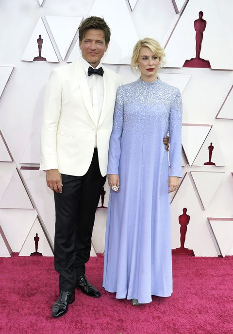 los angeles, california – april 25 l r thomas vinterberg and helene reingaard neumann attend the 93rd annual academy awards at union station on april 25, 2021 in los angeles, california photo by chris pizzelo poolgetty images