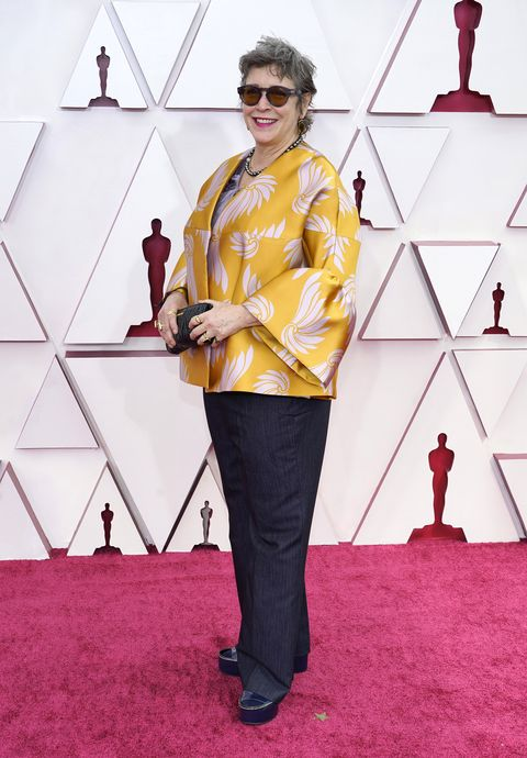 los angeles, california – april 25 elizabeth keenan attends the 93rd annual academy awards at union station on april 25, 2021 in los angeles, california photo by chris pizzelo poolgetty images