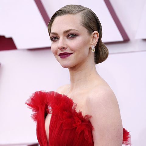 los angeles, california – april 25 amanda seyfried attends the 93rd annual academy awards at union station on april 25, 2021 in los angeles, california photo by chris pizzelo poolgetty images