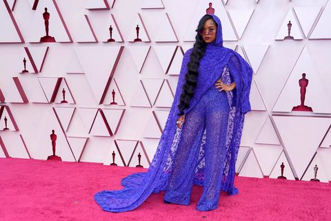 oscars 2021 93rd annual academy awards los angeles union station hollywood red carpet her dundas