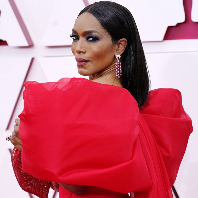 los angeles, california – april 25 angela bassett attends the 93rd annual academy awards at union station on april 25, 2021 in los angeles, california photo by chris pizzello poolgetty images