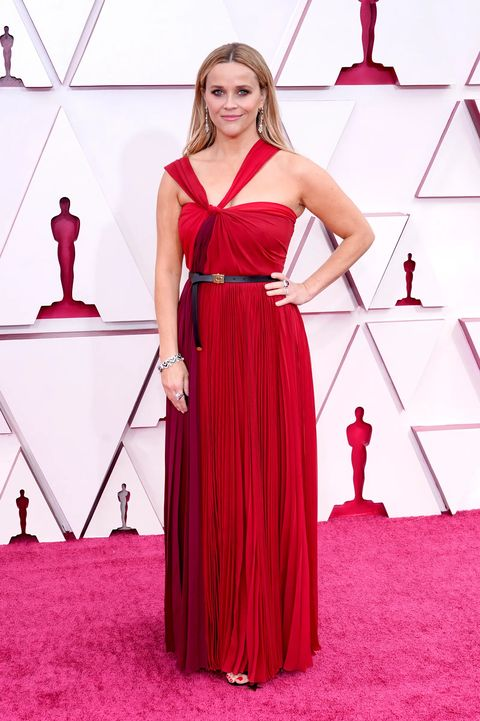 los angeles, california – april 25 reese witherspoon attends the 93rd annual academy awards at union station on april 25, 2021 in los angeles, california photo by chris pizzello poolgetty images