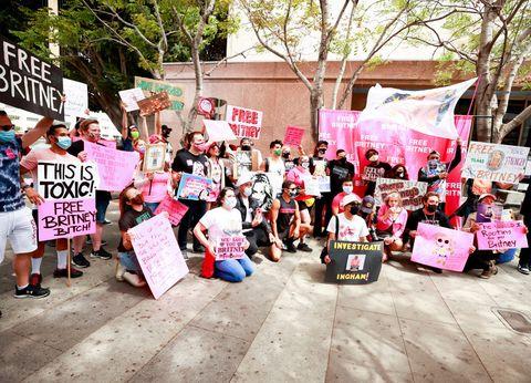 لس آنجلس ، کالیفرنیا در 27 مارس ، در دادگاه در لس آنجلس ، در جلسه دادرسی حفاظت در 27 آوریل 2021 ، در لس آنجلس ، کالیفرنیا اعتراض کردند عکس عکس های مات winkelmeyergetty