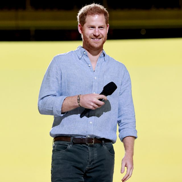 inglewood, california in this image released on may 2, prince harry, the duke of sussex speaks onstage during global citizen vax live the concert to reunite the world at sofi stadium in inglewood, california global citizen vax live the concert to reunite the world will be broadcast on may 8, 2021 photo by emma mcintyregetty images for global citizen vax live