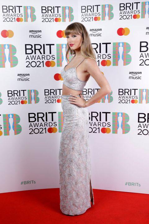 brit awards 2021 best dressed red carpet