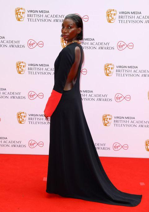 bafta tv awards best dressed 2021