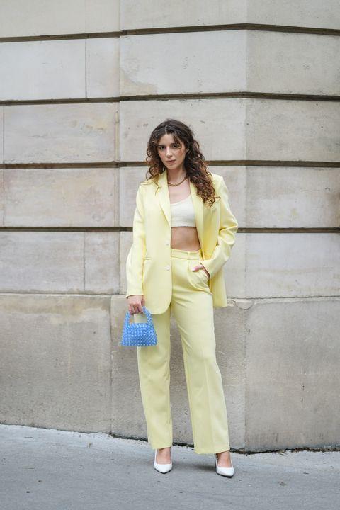 μπλε και κίτρινο μείγμα