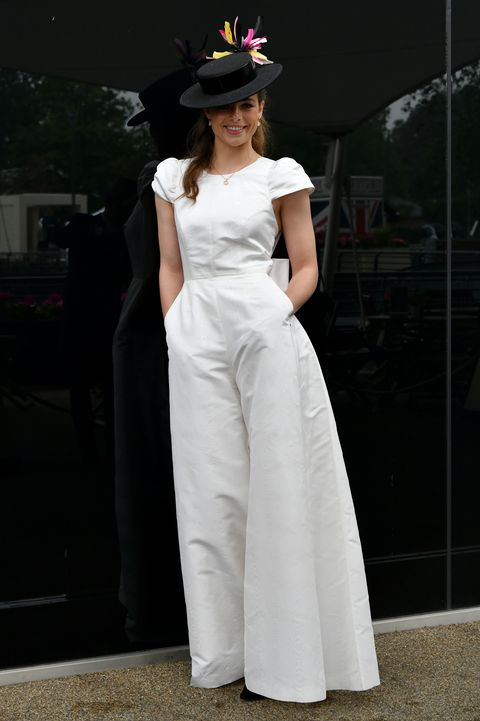ascot, england   june 18 rosie tapner poses during royal ascot 2021 at ascot racecourse on june 18, 2021 in ascot, england photo by kirstin sinclairgetty images for royal ascot