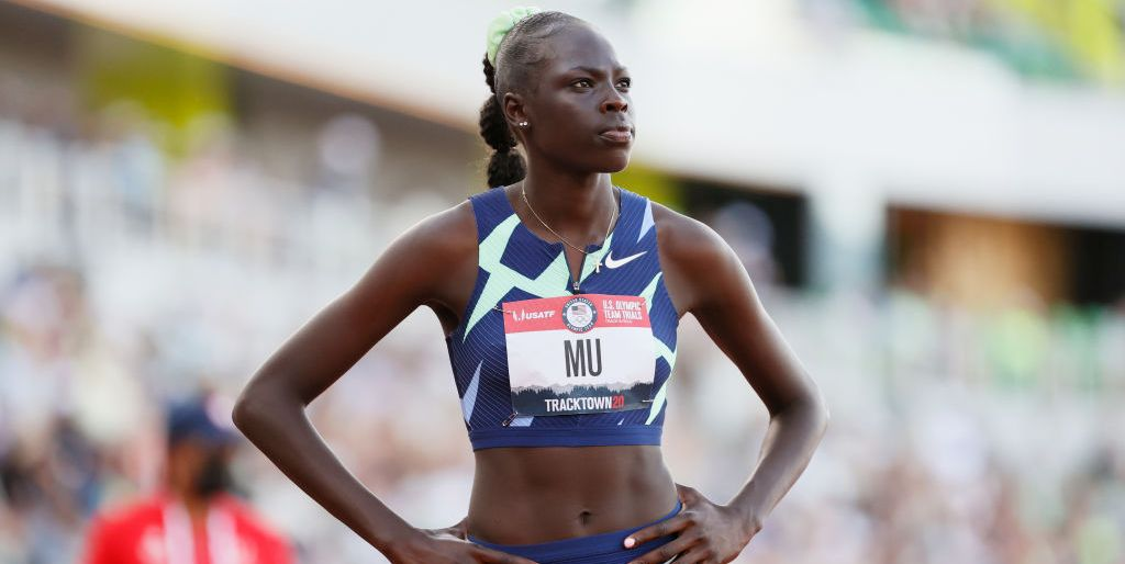 Who is Athing Mu, the Olympics Star Who Could Take Gold in Track? - MarieClaire.com
