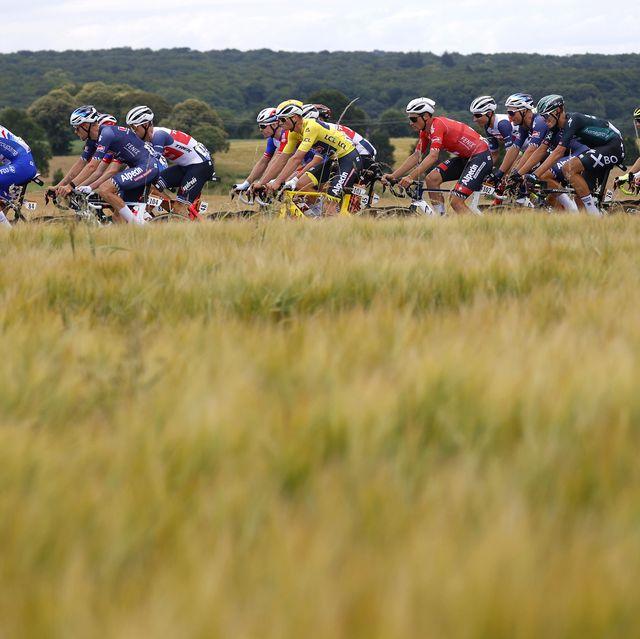 het verschil tussen jou en een renner in de tour