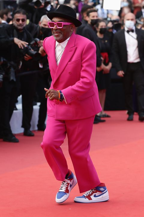 cannes, france   july 06 jury president and director spike lee attends the annette screening and opening ceremony during the 74th annual cannes film festival on july 06, 2021 in cannes, france photo by vittorio zunino celottogetty images for kering