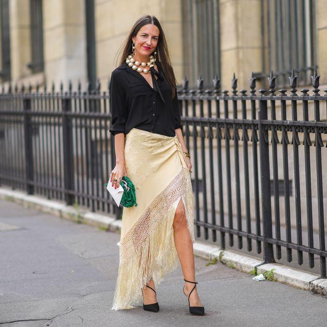 falda manton española