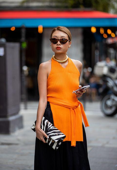 αξεσουάρ πορτοκαλιού