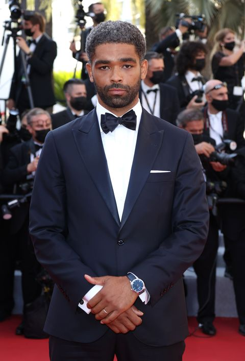 cannes, france   july 09kingsley ben adir   attends the benedetta screening during the 74th annual cannes film festival on july 09, 2021 in cannes, france photo by mike marslandwireimage