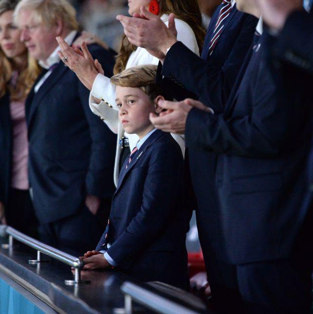 prince george reaction england final