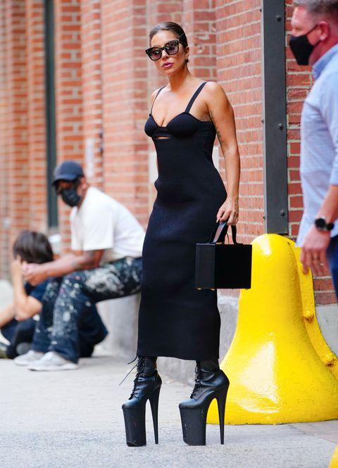 lady gaga in new york city on july 26, 2021