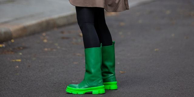botas verdes tendencia