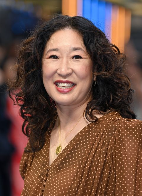 london, england   august 26 sandra oh attends the uk premiere of shang chi and the legend of the ten rings at the curzon mayfair on august 26, 2021 in london, england photo by karwai tangwireimage