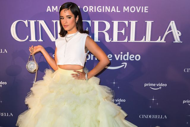 miami, florida   september 01 camila cabello attends the cinderella miami premiere at vizcaya museum  gardens on september 01, 2021 in miami, florida photo by jason koernergetty images