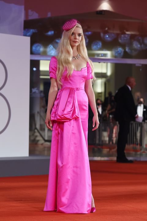 """venice, italy   september 04 anya taylor joy attends the red carpet of the movie """"last night in soho"""" during the 78th venice international film festival on september 04, 2021 in venice, italy photo by stefania d'alessandrogetty images"""