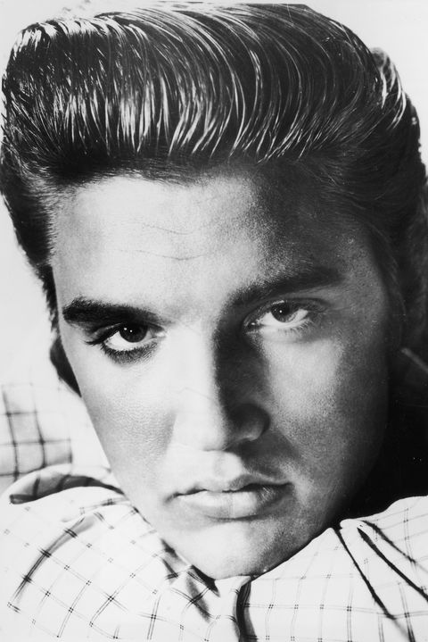 undated photo  file photo  elvis presley poses for a portrait circa 1955 august 16, 2002 marks the 25th anniversary of presleys death elvis died august 16, 1977 in memphis, tennessee  photo by getty images