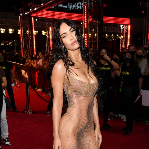new york, new york   september 12 megan fox attends the 2021 mtv video music awards at barclays center on september 12, 2021 in the brooklyn borough of new york city photo by kevin mazurmtv vmas 2021getty images for mtv viacomcbs