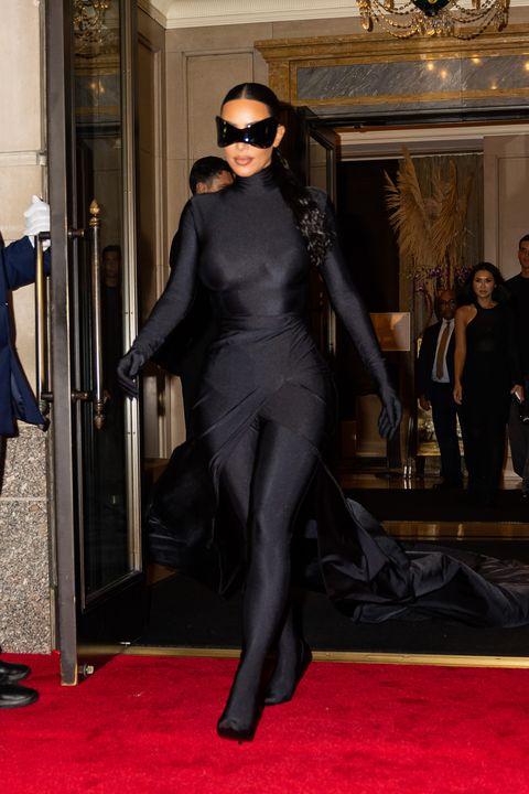 new york, new york   september 13 kim kardashian is seen in midtown on september 13, 2021 in new york city photo by gothamgc images